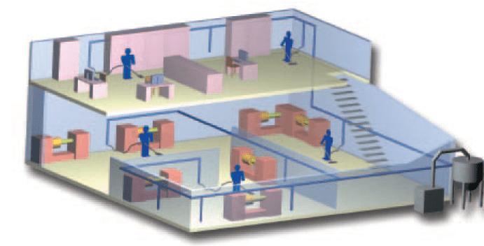 Przemysłowe instalacje centralnego odkurzania