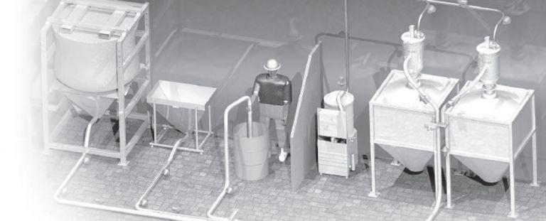 Transport pneumatyczny materiałów sypkich