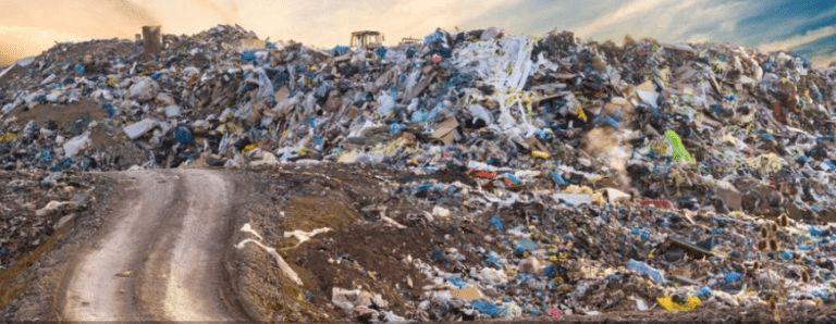 wysypisko śmieci, sprzątanie