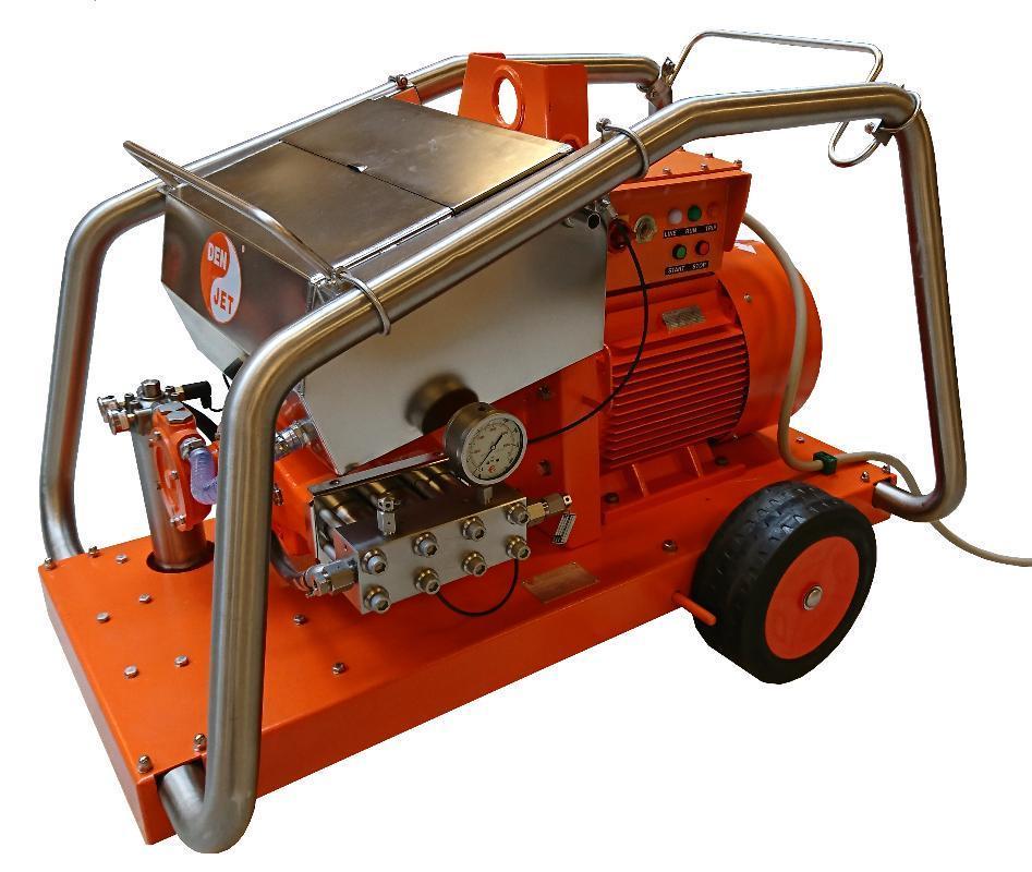 Myjka ultra-wysokociśnieniowa Den-Jet elektryczna 30kw