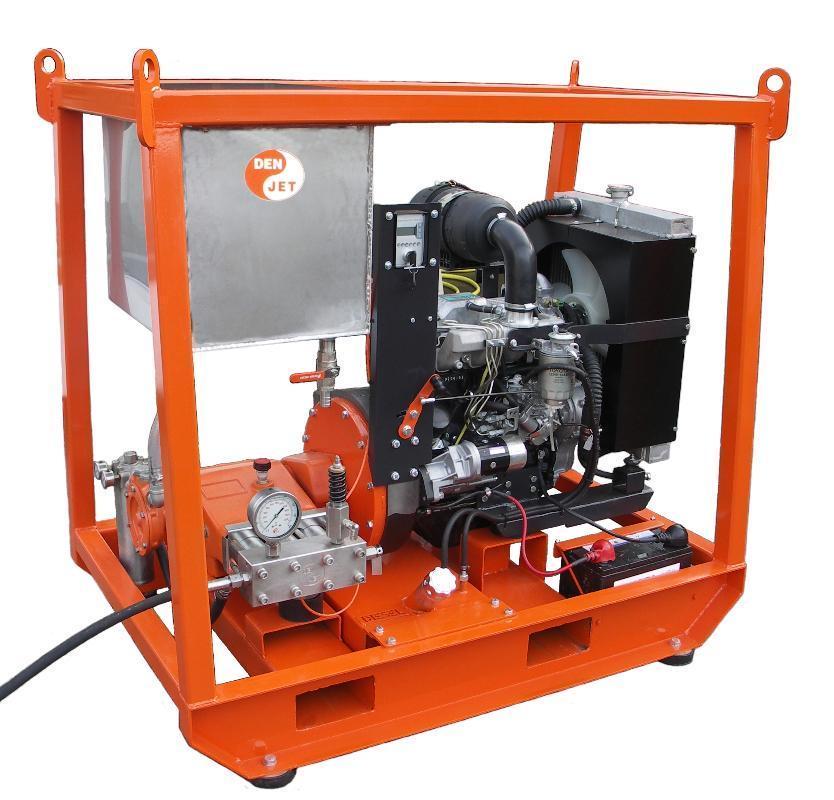 Myjka ultra-wysokociśnieniowa Den-Jet diesel