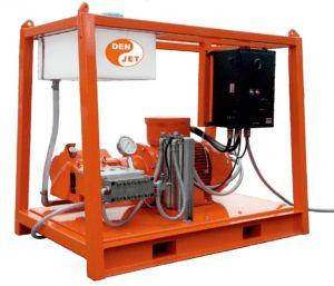 Den Jet agregaty, pompa wysokociśnieniowe elektryczne Atex 75kw